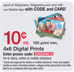 Walgreens Photo Deals!