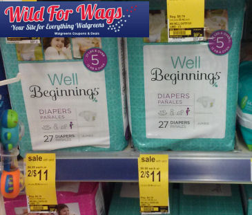 *Reset* Coupon for Well Beginnings Diapers Sale!