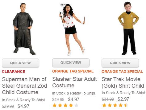 Buy Costumes Deals