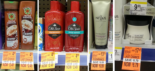 Clearance Hair Products at Walgreens