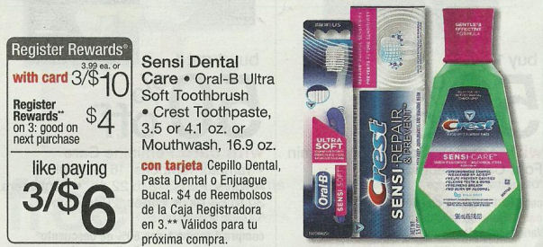 New Coupon for Crest Sensi Relief Next Week -- Just 75¢!
