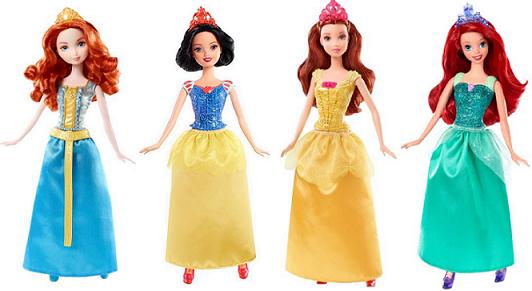 Disney Mattel Dolls