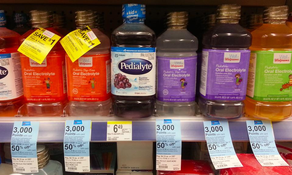 Walgreens Electrolyte Drinks