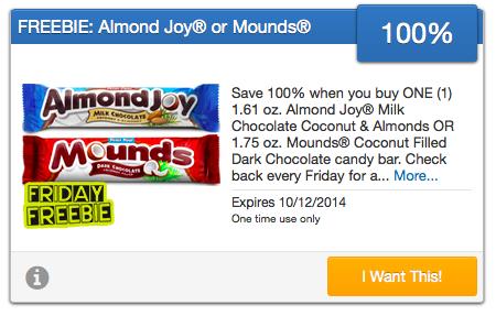 Free Almond Joy
