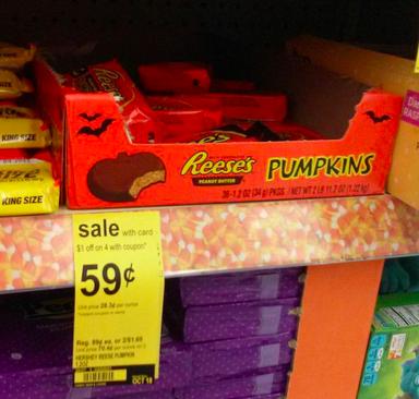 Reese's Pumpkins