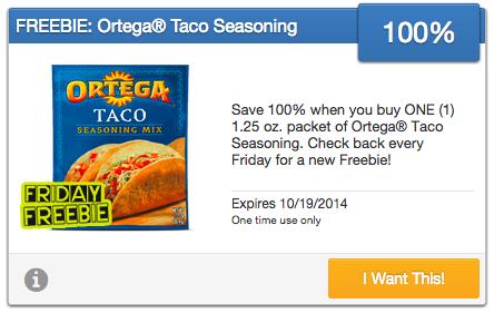 Ortega coupons