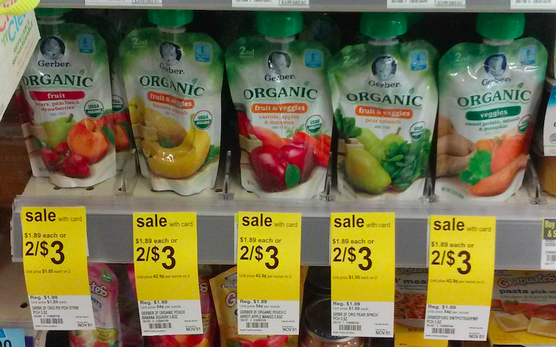 Gerber Organic coupon