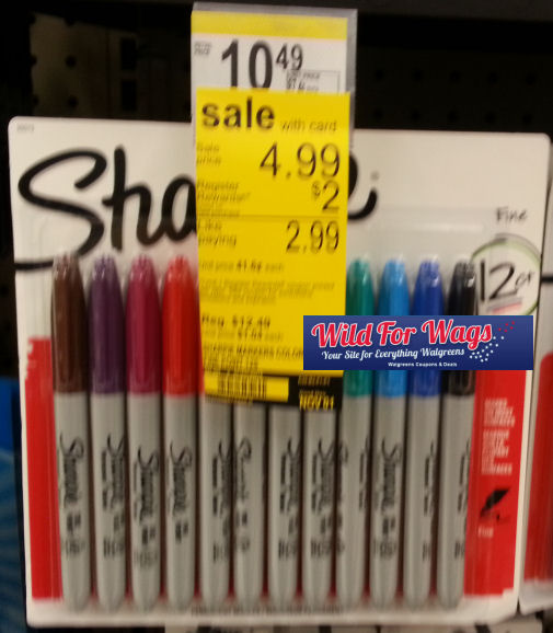 Sharpies & Mr. Sketch -- Just 25¢ per Marker!