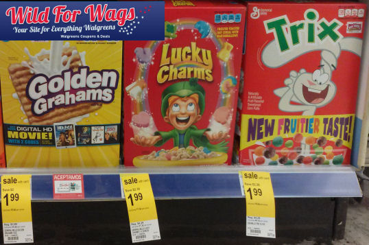 Grab Lucky Charms for 99¢!