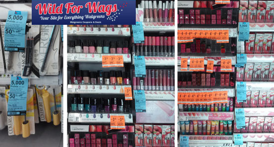CoverGirl Clearance + Points Deal!