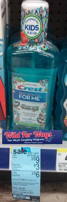 crest rinse rr 3w