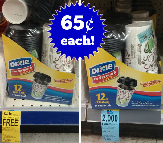 Dixie PerfectTouch Cups As Low As 65¢ Each!