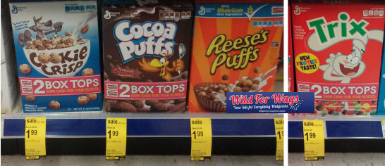 General Mills Cereals As Low As 99¢!