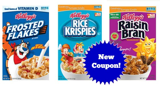 New Kellogg's Coupon for Next Week's Sale!