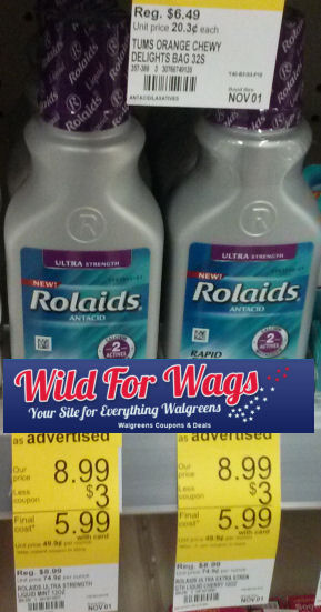 New Stack for Rolaids -- As Low As $1.15!