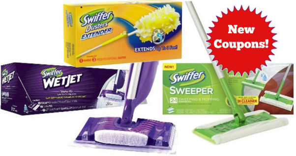 New Swiffer Coupons!