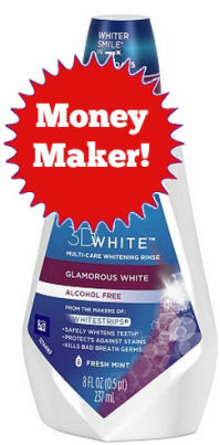 New Coupon for 3D White Money Making Rinse 11/27!