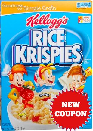 Rice krispies coupon uk