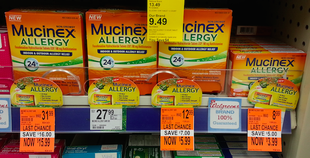 Clearance Mucinex