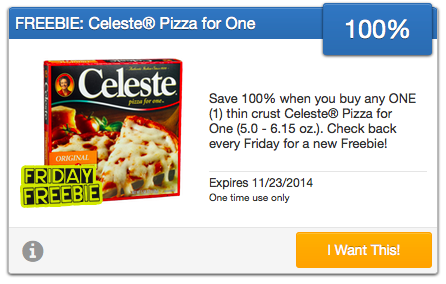 Free Celeste Pizza