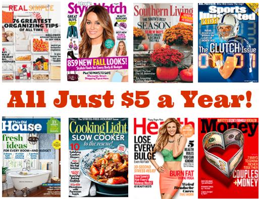 $5 Magazines