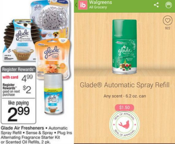 Glade Autmatic Spray refill Free!