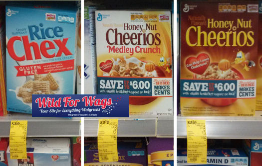 General Mills Cereals As Low As 83¢ Each!