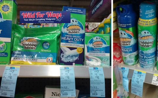 Update: Scrubbing Bubbles Bath Cleaners & Refills $1 Each!