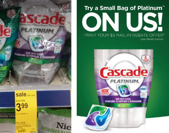 Get Paid To Buy Cascade At Walgreens!