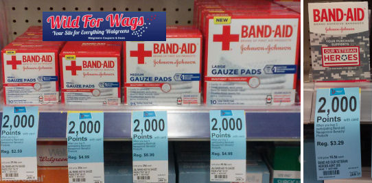 Hurry -- Band-Aid Gauze Products As Low As $1.26!