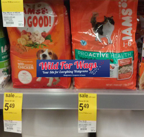 Iams Just $3.49 for Your Cats & Dogs!