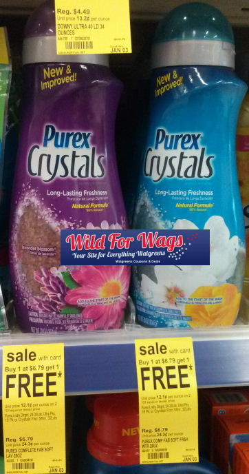 Hurry & Grab Purex Crystals At Walgreens Thru 12/31!