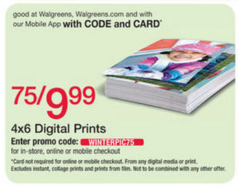 Walgreens Photo deals & coupons