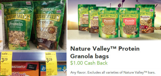 Stack for Nature Valley Granola -- Just $1.54 Thru Wednesday!