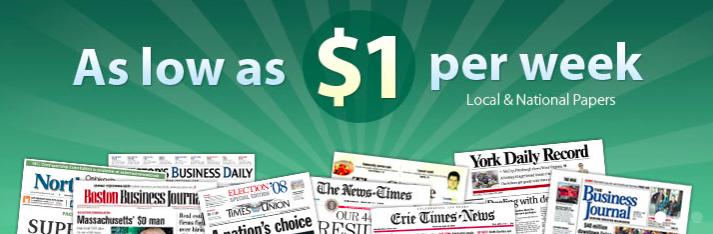 Newspaper Deals