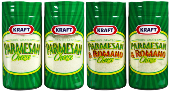 Kraft Parmesan Cheese coupons