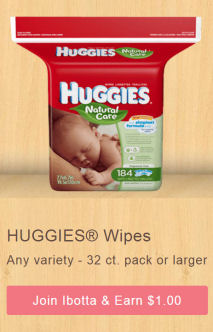 huggies wipes ibotta