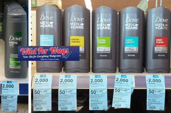 Dove Men+Care Shampoo 74¢ + Clearance Deals!