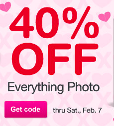 40 percent off photo
