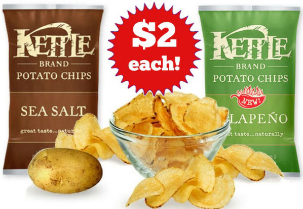Kettle brand chips 2 each next week
