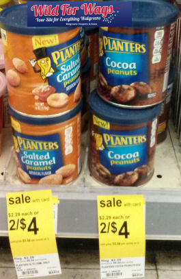 Planters Peanut Flavors