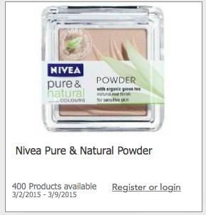 Free Nivea Powder