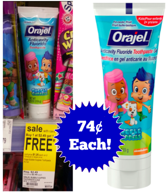 Orajel for Kids Toothpaste