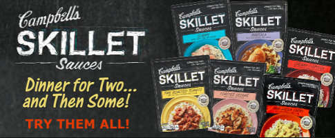 Campbell's Skillet Sauces coupons