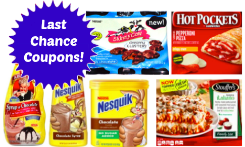 Last Chance Nestle Coupons