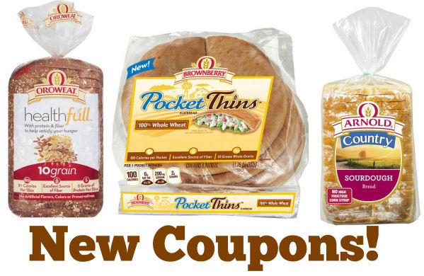 New Bread Coupons!