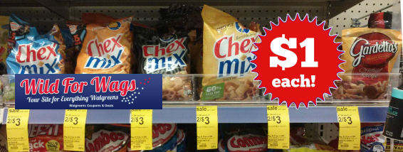 Chex Mix Just $1 Each!
