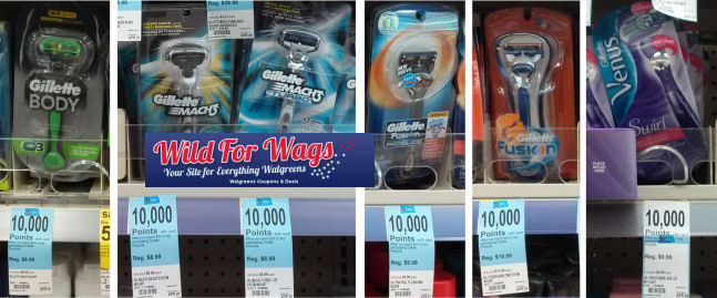 Gillette Razor deals