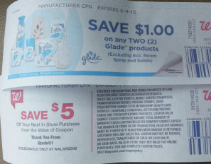 Glade RR & Coupon