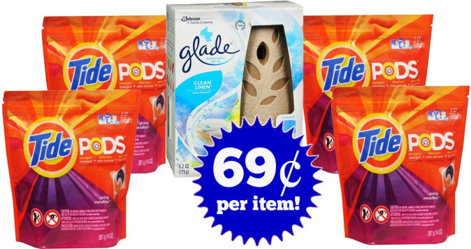 Glade & Tide Pods Deal